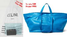 VOTE: Celine debuts $750 plastic bag -- but is it worse than Balenciaga's Ikea bag?