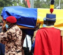 Idriss Déby: Thousands attend funeral of Chad president