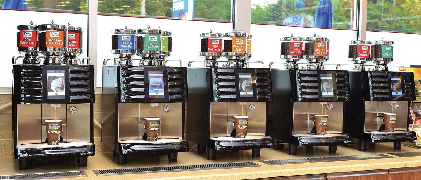 Royal Farms Launches New Coffee Brewing System