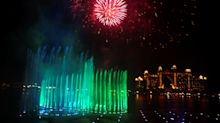 The spectacular Dubai fountain breaks world record