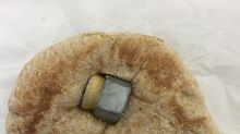 Lunch Delivery Fail: The Hardware in the Pita Bread