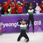 Short track: Hungary storm to first Winter Games gold