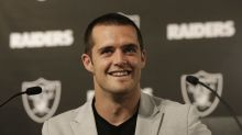 Raiders QB Derek Carr not really getting into music business (thank goodness)