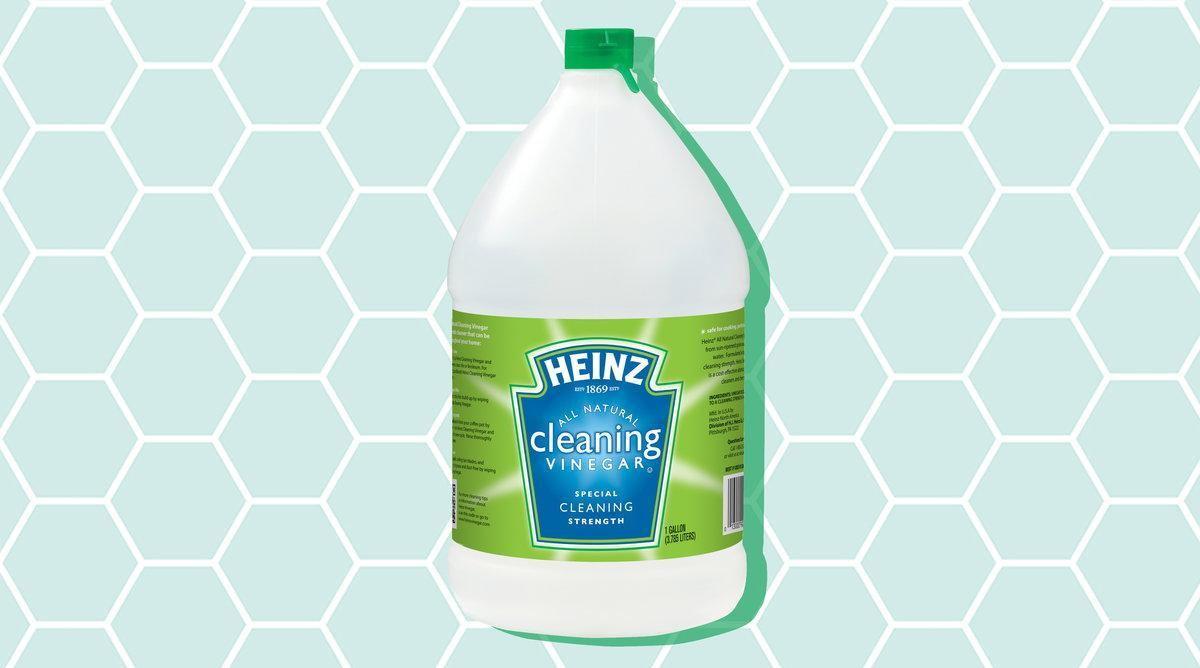 You Can Use Cleaning Vinegar To Clean Everything Except