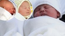 Royal baby's striking resemblance to Prince George and Princess Charlotte