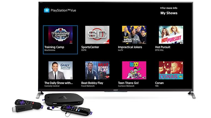 PlayStation Vue comes to your Roku player