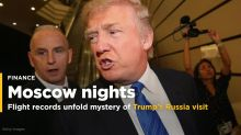 Flight Records Unfold Mystery of Trump's Moscow Nights