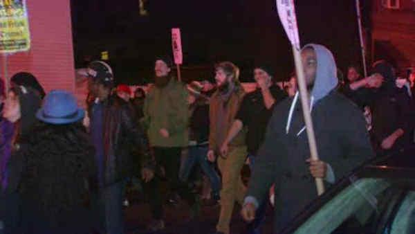 Peaceful march to remember teen shot by police in Brooklyn