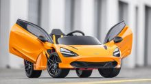 McLaren's kiddie 720S has butterfly doors and can play movies