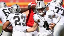 Devontae Booker has found home, thriving within Raiders' backfield