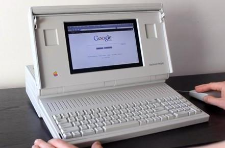 Macintosh Portable case mod is bulky, fantastic