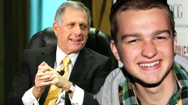 CBS Boss Les Moonves Blasts Angus T. Jones Two and A HalfRant