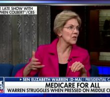 Elizabeth Warren struggles when pressed on middle class tax hike