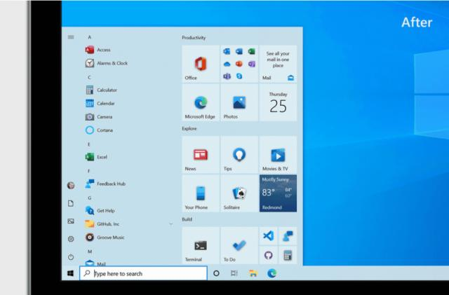 Windows 10's October update is rolling out with a refreshed Start menu
