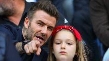 Harper Beckham reveals surprising way dad David is like Del Boy