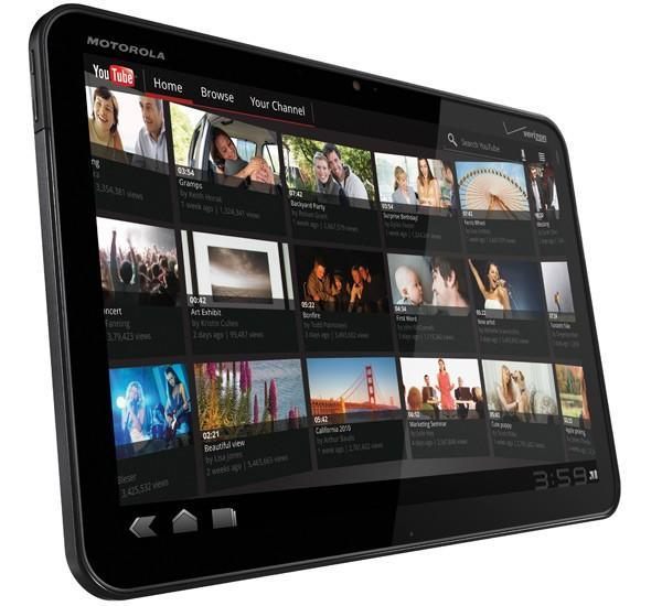 Motorola Xoom becomes official, headed to Verizon in Q1, upgradeable to 4G in Q2