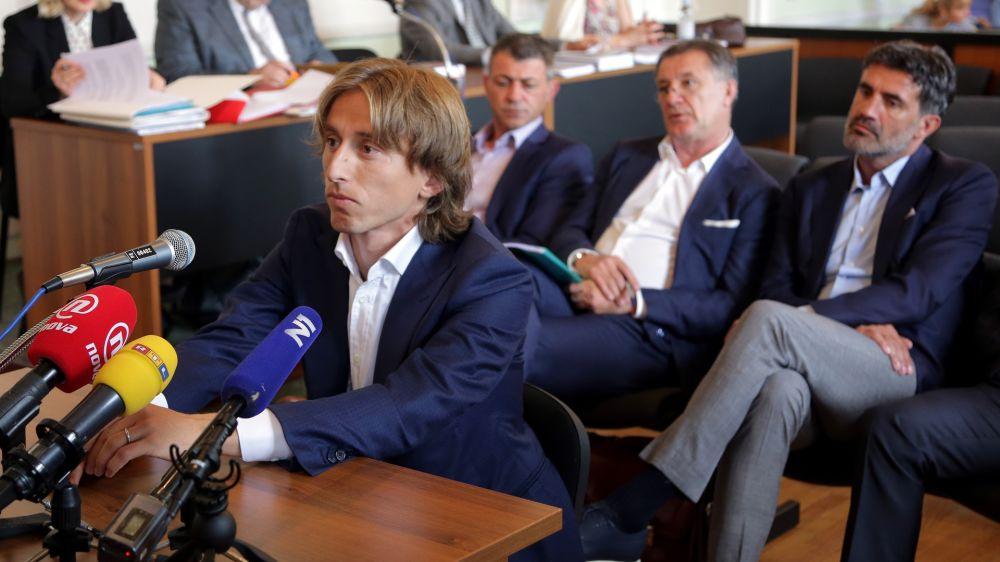 Luka Modric, investigado por posible falso testimonio