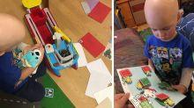 Boy battling cancer receives hundreds of Christmas cards from strangers