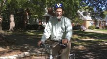 Nobel Prize winner honored with dedicated campus bike rack