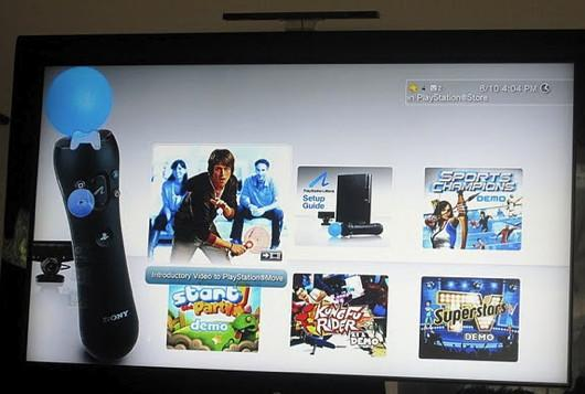 PlayStation Move unboxed, demo disc detailed