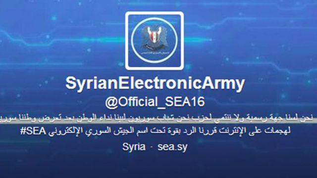 Syrian Electronic Army claims attacks on western media