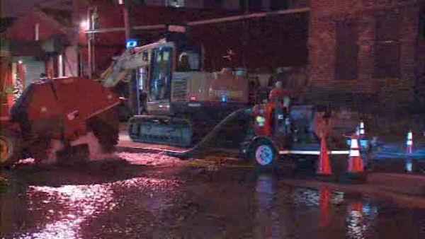 Hoboken water issues after latest water main break