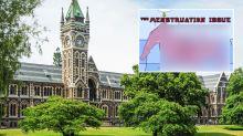 University denies censoring after removing 'menstruation edition' of student magazine