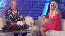 Marley presentó a Mirko en el living de Susana y la diva le cambió los pañales en vivo