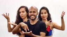 Bailarino surdo cria grupo de dança em libras