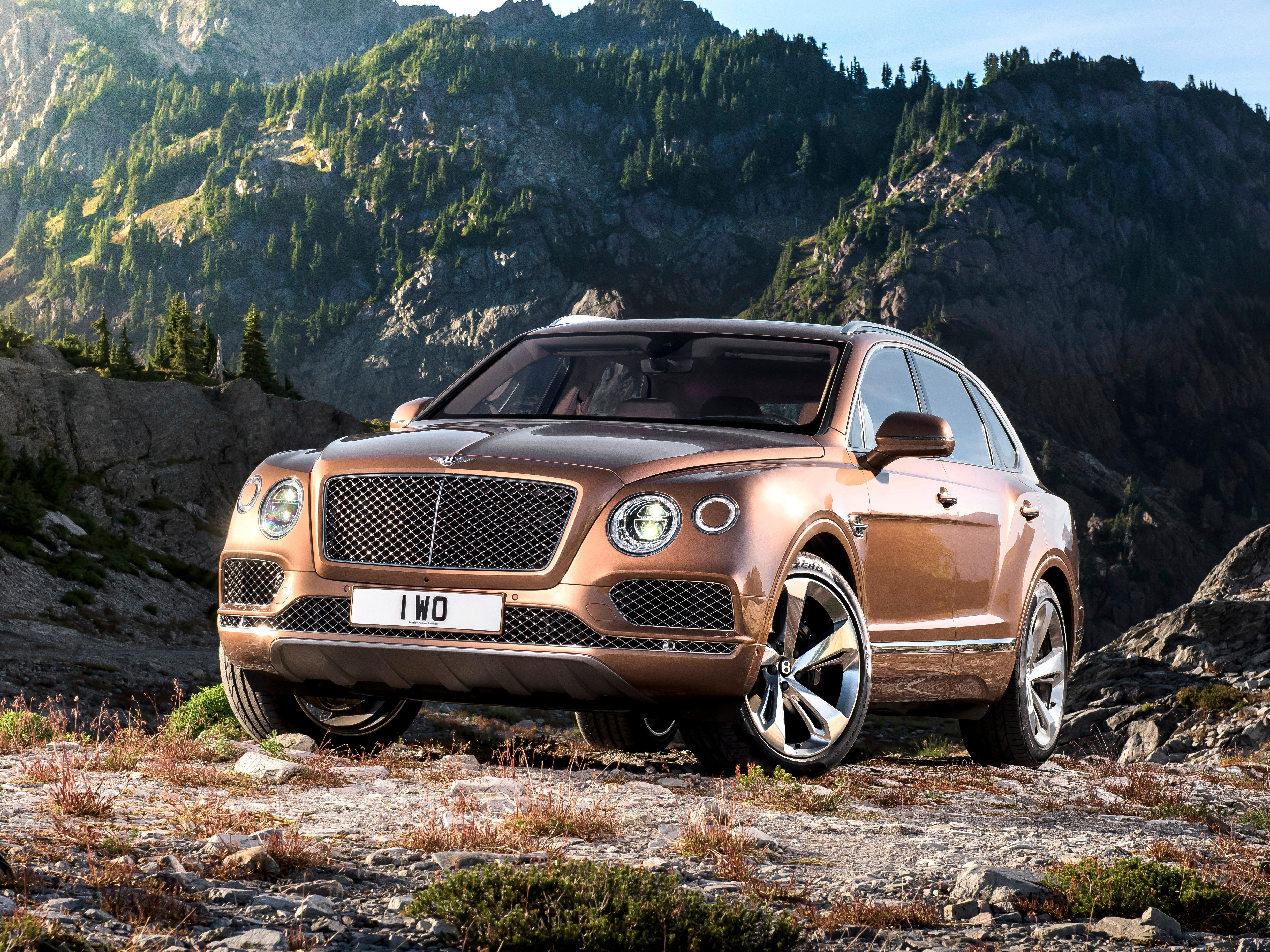 The Bentley Bentayga sets the stage for a new kind of hyper luxury SUV