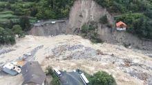 Tempête Alex : de premières images aériennes montrent l'ampleur des dégâts dans les Alpes-Maritimes
