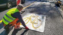 Verkehr in Berlin: 25 weitere Pop-up-Radwege auf Berlins Straßen geplant