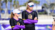 LSU vs. TCU beach volleyball video highlights, score for Friday at the NCAA Championships