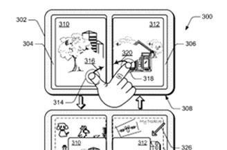 Microsoft gesture patents reveal possible dual-screen tablet focus