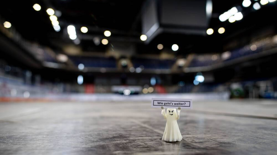 """""""Kein Überleben möglich"""": Eishockey in großer Gefahr"""