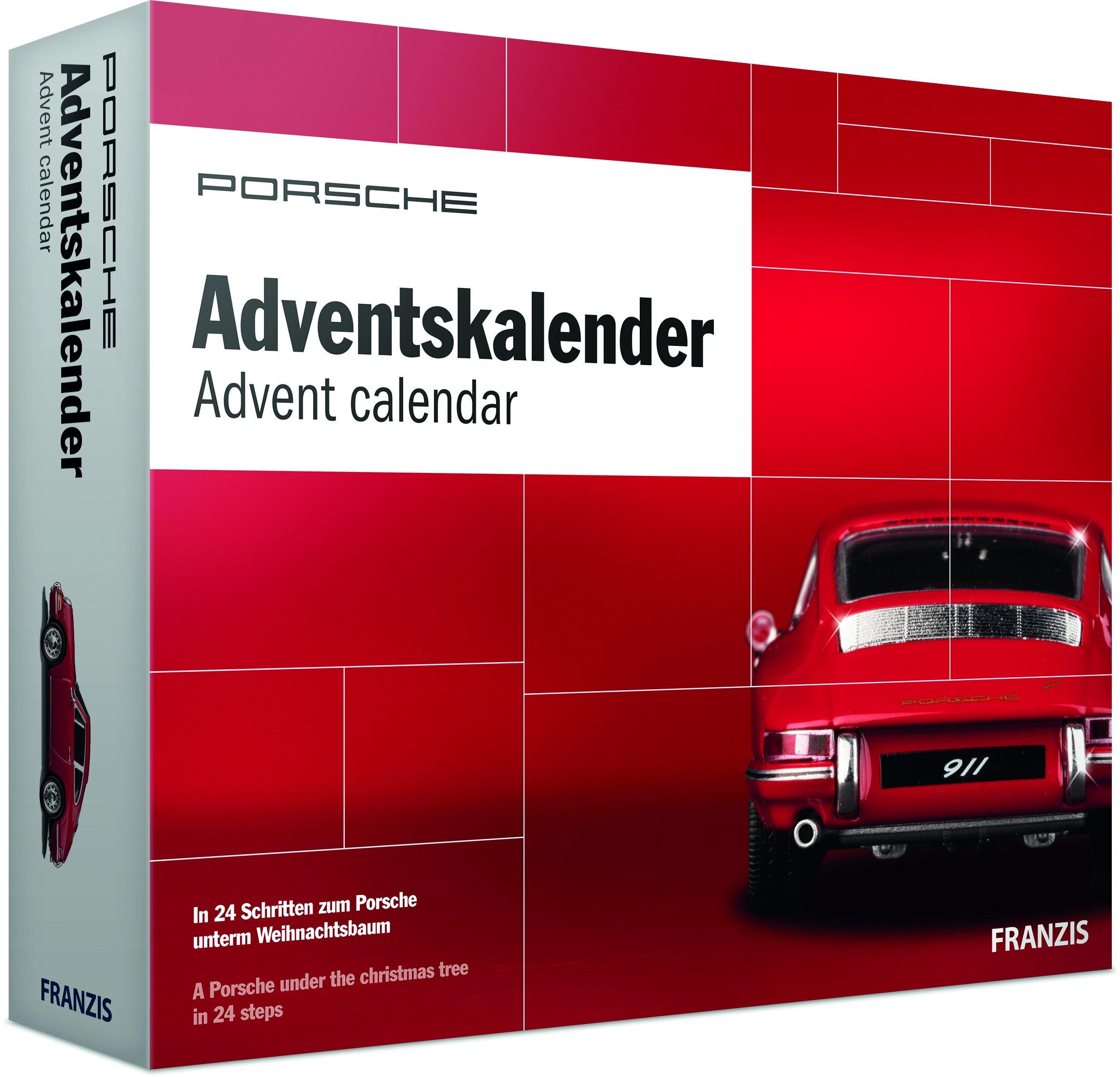 Cars Weihnachtskalender.Build A Porsche 911 Scale Model With This Automotive Advent Calendar