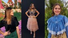 7 fotos de Maisa que provam que os babados estão de volta