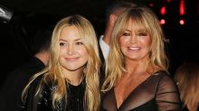 Kate Hudson's Morning Yoga Session Featured a Cameo From Rani Rose