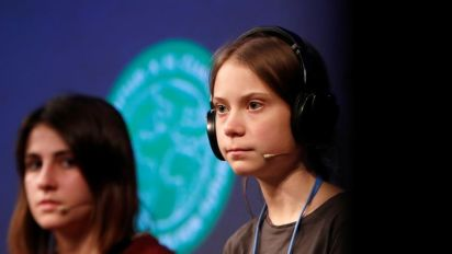 Greta Thunberg: 'Our voices' not translating into action