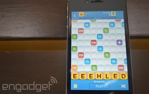 New Words with Friends lets you play solo even when you're offline