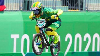 Renato Rezende se classifica às semifinais do ciclismo BMX nos Jogos Olímpicos de Tóquio