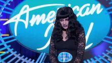 Scary goth girl is actually ex-'American Idol' contestant in disguise