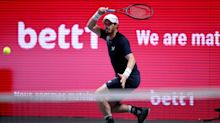 Andy Murray forced to pull out of Cologne ATP tournament with ongoing hip flexor problem