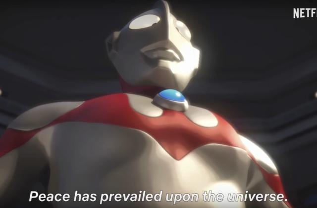 Netflix shows off its 'Ultraman' CG anime series in new trailer