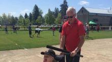 Toronto Blue Jays go to bat for Island author