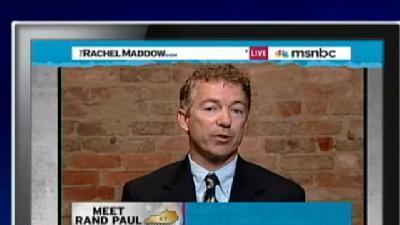 Rand Paul Under Fire For Comments On Oil Spill