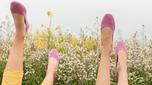 These environmentally friendly shoes from Allbirds saved my feet