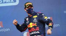 Perez wins in Baku after Verstappen crash