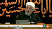 """Presidente iraní dice que """"belicismo"""" de Estados Unidos fracasará"""