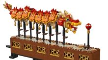 Review: We built this sold-out Lego Dragon Dance set just in time for CNY